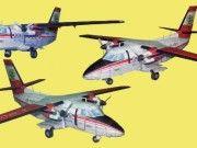 Let L-410 Turbolet Free Aircraft Paper Model Download