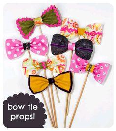 Bow tie props