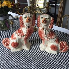 "Black Friday Sale. 12.5"" mantle dogs. $85. #shopthealist #blackfriday #blackfridaysale"