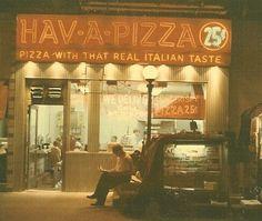 Hav-A-Pizza, E. 86th Street.  60s 70s