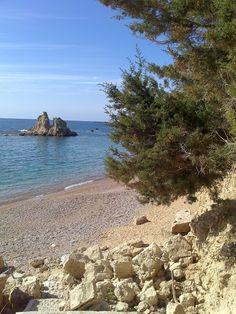 Votsalakia beach at the Amoopi area Karpathos Greece