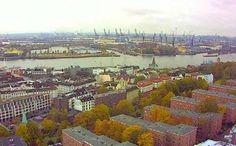 Live camera Hamburg - St.Michaelis Hamburg, Germany.