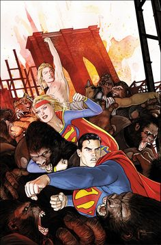 CONVERGENCE: ADVENTURES OF SUPERMAN #2 Written by MARV WOLFMAN / Art by ROBERTO VIACAVA and ANDY OWENS