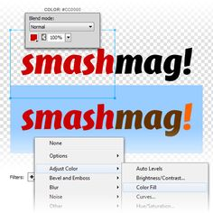 Extracting Logos Using Levels in Adobe Fireworks