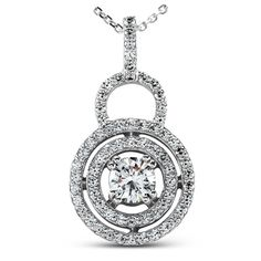 Diamond Pendant available at Jenkins Jewelers in Midland and Gladwin, Mi