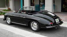 Replica Black 1956 Porsche 356 Speedster
