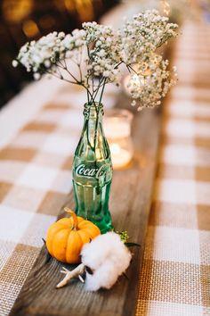 Rustic Fall Wedding on SMP: http://www.stylemepretty.com/2013/11/22/north-carolina-cotton-farm-wedding-from-perry-vaile-photography Photography: Perry Vaile Photography   Baby's Breath