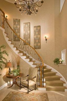 Beautiful Tuscan Staircase Wesley Wayne Interiors ᘡղbᘠ Dream