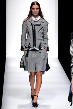 Sacai Spring 2013 Ready-to-Wear Fashion Show - Tilda Lindstam