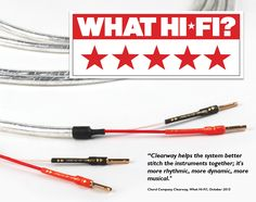 Chord's Clearway, excellent speaker cable allows for more musicality and greater dynamics from your system...  Chord hasn't created a speaker cable that'll make your system sound its cleanest or most detailed, but an understanding of what makes music enjoyable means the positives far outweigh that   ------- What Hi-Fi (India) -  #TheChordCompany #Clearway #SpeakerCable  #SilverSpaceSnake #LargestHiFiCable #HomeCinemaCable #WhatHiFi #5StarsRating #BroughtToYouBy #PROFX #India
