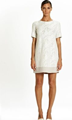 Tata Italian Cream Lace Covered Nightdress 8/10/12 Short Gowns, Paper Lace, Italian Style, Nightwear, Lace Shorts, Lilac, Short Sleeves, White Dress, Dressing