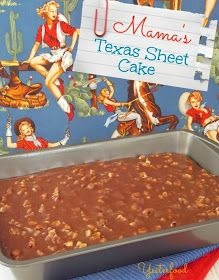 Yesterfood : Texas Sheet Cake This is one of the best recipes for sheet cake ever! That cinnamon gives it a special kick~~only chocolate cake I ever make! Chopped pecans on top (or walnuts, if you prefer) makes the perfect cake. Cupcakes, Cake Cookies, Cupcake Cakes, Just Desserts, Delicious Desserts, Dessert Recipes, Texas Cake, Brownies, Sheet Cake Recipes