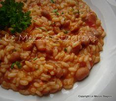Ricetta riso e fagioli borlotti