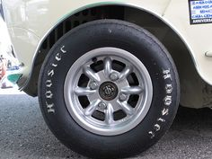 Rachel Nelson's 1965 Austin Mini Cooper S Racecar, Number 68