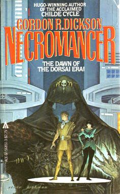 Gordon R. Dickson, Necromancer was published in 1962. Also published as No Room for Man it's the 2nd novel in the Childe Cycle series.