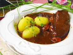 Chana Masala, Baked Potato, Stew, Chili, Food And Drink, Potatoes, Menu, Tasty, Baking