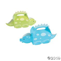 Planning a dinosaur birthday party? These Little Dino Treat Boxes are part of our Little Dino theme and will work perfectly as birthday party supplies! They ...
