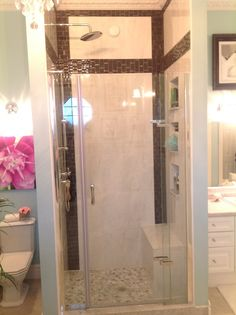 After - master ensuite shower