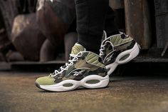 "5a35e9125 Reebok QUESTION MID ""1ST CAMO"" ""A BATHING APE® x mita sneakers"""