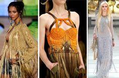 Macramê - Os nós das tramas artesanais ressurgem em produções cheias de estilo: Tendências 2012