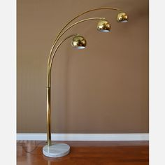 Fab.com   Brass Arc Floor Lamp