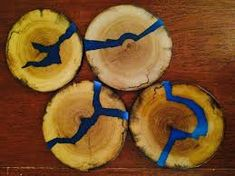 Image result for wood and resin table