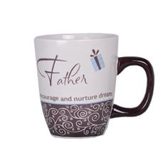 Emotion Mugs - Father Rs. 349.00   Message on the Mug: You listen without passing judgment, encourage and nurture dreams