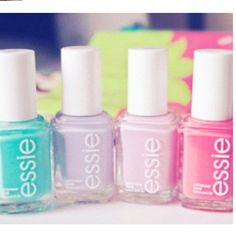 Cute pastel Essie polishes!!