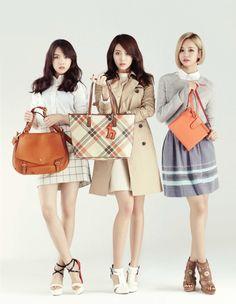 Girl's Day MinAh, YuRa and HyeRi