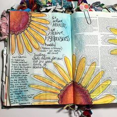 So thankful for two years of illustrating my faith through bible journaling. I remember when I got my first journaling bible two years ago, I was so excited! Now quickly filling up my third bible, I still have that same excitement as I grab my bible, paints and devotional for some time each day. Journaling has deepened my walk with the Lord, opened up ways for me to talk to people about Jesus, and gets me intentionally into the Word everyday. :) I'm going though @jenniesallen Chase study…