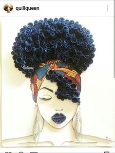 61 Super Ideas For Black Art Afro Queens Black Love Art, Black Girl Art, My Black Is Beautiful, Black Girls Rock, Black Girls Drawing, Natural Hair Art, Natural Hair Styles, Art Afro, Black Art Pictures