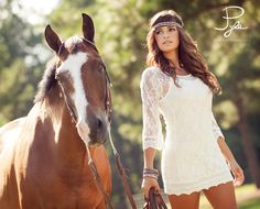 John Pyle Photography | Senior Photo Session Ideas | Props | Prop | Photography | Clothing Inspiration | Fashion | Pose Idea | Poses | Pet | Horse | Country
