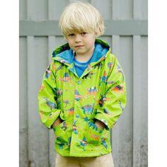 cc7725245d1 Hatley Raincoat with Green Dino Print.