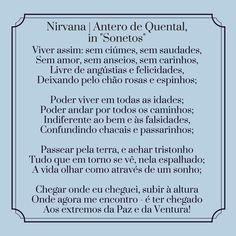 Antero de Quental | Poema: Nirvana