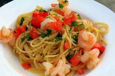37 Cooks: Angel Hair Carbonara with Shrimp