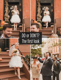 Wedding Advice: Is doing a first look photo right for your wedding? - Wedding Party | Wedding Party
