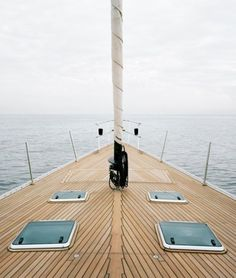 One day I want to own a boat and sail all around the world.