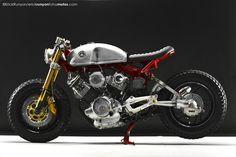 Yamaha XV750 custom overall look