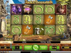 Viel Spaß online kostenlos Automat Jack and the Beanstalk - http://freeslots77.com/de/jack-and-the-beanstalk/