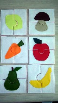 Felt puzzles , jigsaw, learning toy, activity, quiet game, kids toys, homeschool