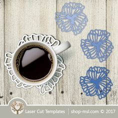 Laser cut wall clock / coaster templates, buy online now, free vector designs every day. Coaster Design, Coaster Set, The Artist's Way, Cast Acrylic, Vector File, Vector Design, Laser Cutting, Mother Day Gifts, Free Design