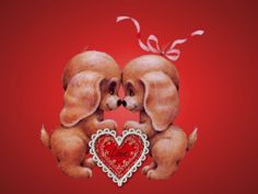 Free Ecards For Valentine's Day Funny. Valentines Day Dogs Wallpaper  Download The Free Cute Valentines Day