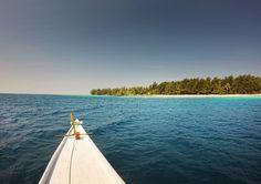 Heading to Menjangan Kecil Island, Karimun Jawa