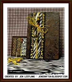 African-themed Wedding Invitations