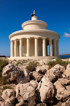 St Theodore-Agion Theodoron lighthouse, Kefalonia, Ionian Islands, Greece.