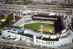 Final years of Comiskey Park, home of the Chicago White Sox