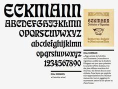 Otto Eckman - Eckman - 1900 via Xavier Senente