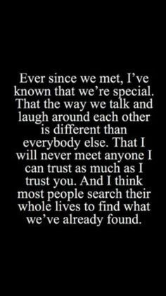 Soulmate and Love Quotes : QUOTATION – Image : Quotes Of the day – Description Soulmate Quotes : QUOTATION – Image : As the quote says – Description & I think most people search their whole lives to find what we've already found. Love Quotes For Her, Cute Love Quotes, Love Quotes For Boyfriend Romantic, Unexpected Love Quotes, Soulmate Love Quotes, Love Yourself Quotes, Best Friend Love Quotes, Good Quotes About Love, Scary Love Quotes