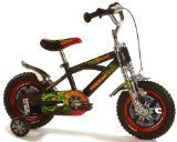 findathing247 Samurai Boys Bike Samurai Boys Bike 12 wheels with wheel disc, safety pad set, pump up tyres, stabilisers, mudguards, junior triple clamp forks, front brake, coloured rims, printed saddl (Barcode EAN = 4019518019899). http://www.comparestoreprices.co.uk/kids-bikes-