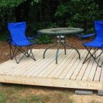 Beautiful Build Floating Deck Roundtable
